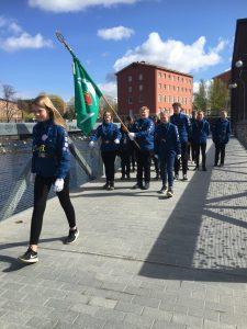 Reissu19 paraati Tampereella